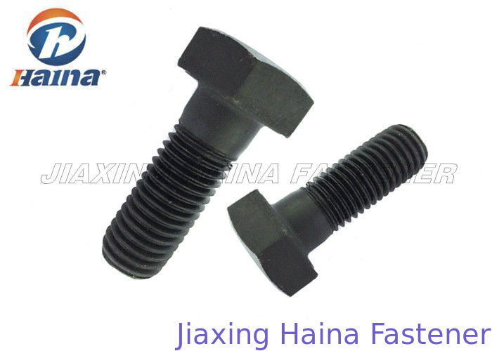 ANSI/ASTM/ASME Heavy Hex Structural Bolt A325 A490 Type 1 Black Half Thread Hex Head Bolts