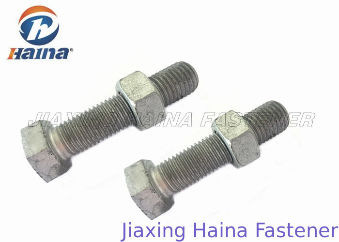 High Corrosion Fully Threaded Metric Pitch Hex Head Bolts For Connecting