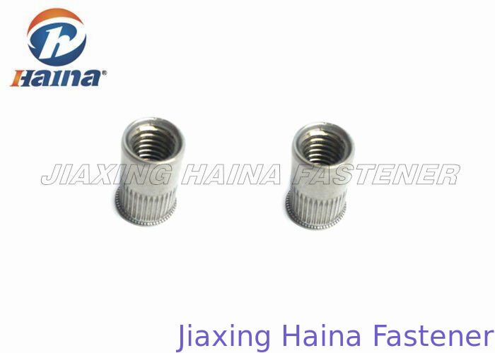 SS304 M8 Threaded Rivet Nuts Right Hand Plain With Good Corrosion Resistance