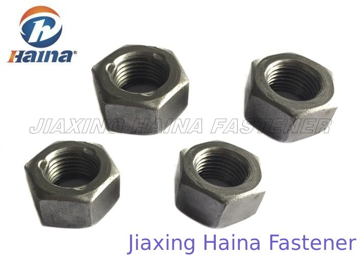 "Metric ASTM Hex Head Nuts Gr2 Plain Finish 9/16""-18 3/8""-24 Prevailing Torque Type Hexagon Top Lock Nut"